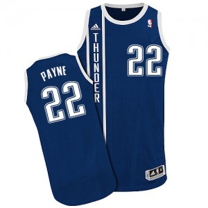 Maillot Authentic Oklahoma City Thunder NBA Alternate Bleu marin - #22 Cameron Payne - Homme