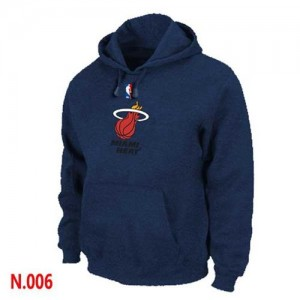 Sweat à capuche NBA Miami Heat Marine - Homme