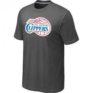 Tee-Shirt NBA Los Angeles Clippers Big & Tall Gris foncé - Homme