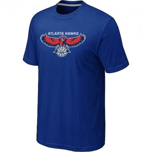 Tee-Shirt NBA Atlanta Hawks Bleu Big & Tall - Homme