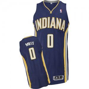 Indiana Pacers #0 Adidas Road Bleu marin Authentic Maillot d'équipe de NBA Discount - C.J. Miles pour Homme