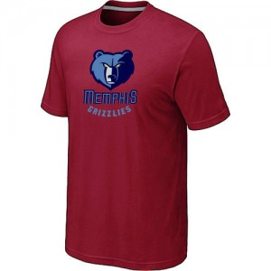 T-shirt principal de logo Memphis Grizzlies NBA Big & Tall Rouge - Homme