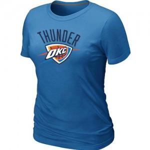 Oklahoma City Thunder Big & Tall Bleu clair Tee-Shirt d'équipe de NBA Vente - pour Femme
