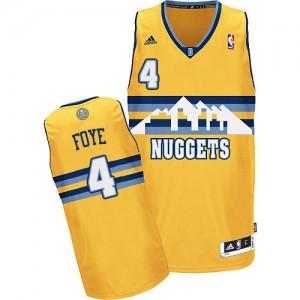 Maillot Swingman Denver Nuggets NBA Alternate Or - #4 Randy Foye - Homme