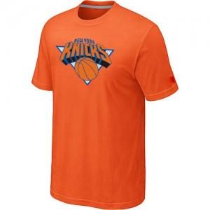 Tee-Shirt NBA Orange New York Knicks Big & Tall Homme