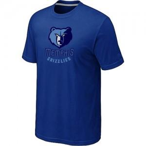 T-shirt principal de logo Memphis Grizzlies NBA Big & Tall Bleu - Homme