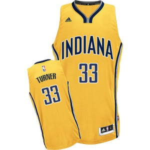 Maillot NBA Swingman Myles Turner #33 Indiana Pacers Alternate Or - Homme