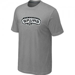 San Antonio Spurs Big & Tall Tee-Shirt d'équipe de NBA - Gris pour Homme