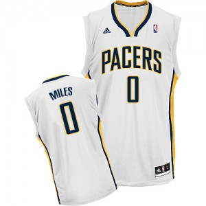 Maillot Swingman Indiana Pacers NBA Home Blanc - #0 C.J. Miles - Homme