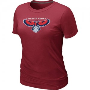 Tee-Shirt NBA Rouge Atlanta Hawks Big & Tall Femme