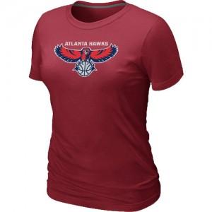 Tee-Shirt NBA Rouge Atlanta Hawks Big & Tall Femme