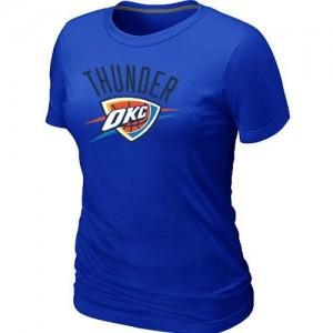 Tee-Shirt NBA Oklahoma City Thunder Big & Tall Bleu - Femme