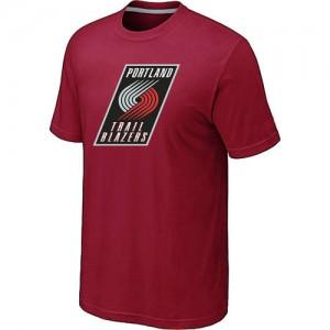 T-shirt principal de logo Portland Trail Blazers NBA Big & Tall Rouge - Homme