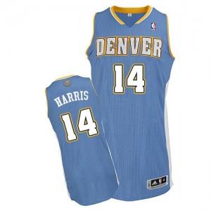 Maillot Authentic Denver Nuggets NBA Road Bleu clair - #14 Gary Harris - Homme