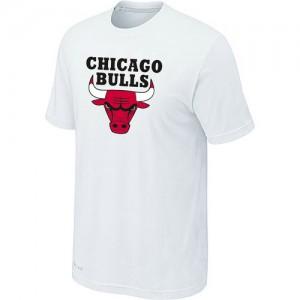 Chicago Bulls Big & Tall Tee-Shirt d'équipe de NBA - Blanc pour Homme