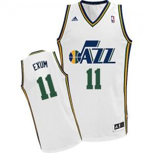 Maillot Swingman Utah Jazz NBA Home Blanc - #11 Dante Exum - Homme