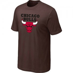 Tee-Shirt NBA marron Chicago Bulls Big & Tall Homme