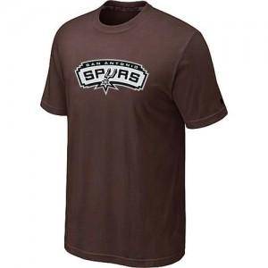 T-shirt principal de logo San Antonio Spurs NBA Big & Tall marron - Homme