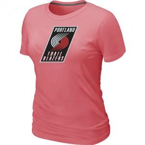 Tee-Shirt NBA Portland Trail Blazers Big & Tall Rose - Femme