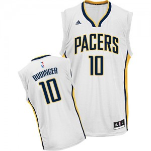 Maillot Adidas Blanc Home Swingman Indiana Pacers - Chase Budinger #10 - Homme