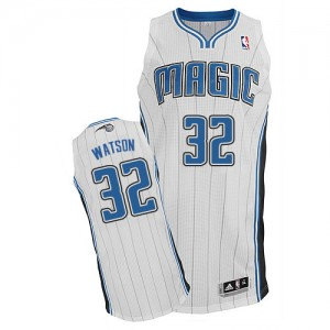 Maillot NBA Authentic C.J. Watson #32 Orlando Magic Home Blanc - Homme