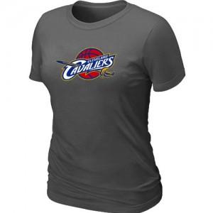 Tee-Shirt NBA Cleveland Cavaliers Big & Tall Gris foncé - Femme