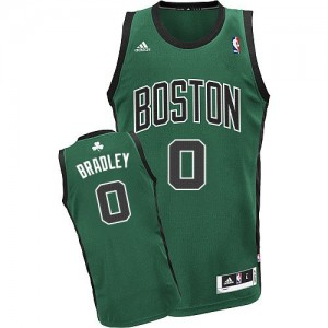Boston Celtics #0 Adidas Alternate Vert (No. noir) Swingman Maillot d'équipe de NBA boutique en ligne - Avery Bradley pour Homme