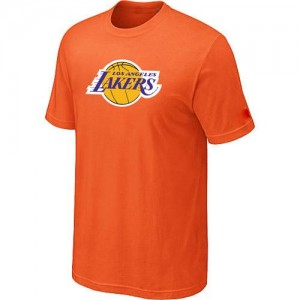 Tee-Shirt Orange Big & Tall Los Angeles Lakers - Homme