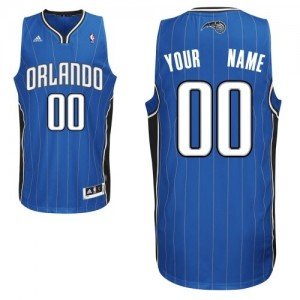 Orlando Magic Personnalisé Adidas Road Bleu royal Maillot d'équipe de NBA Vente - Swingman pour Homme