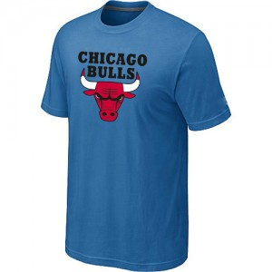 Tee-Shirt Bleu clair Big & Tall Chicago Bulls - Homme