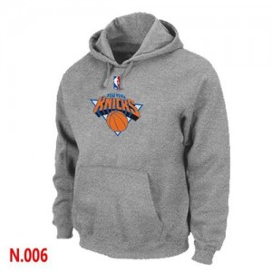 Sweat à capuche Gris New York Knicks - Homme