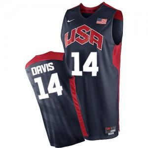 Maillot Nike Bleu marin 2012 Olympics Swingman Team USA - Anthony Davis #14 - Homme