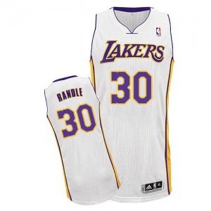 Los Angeles Lakers Julius Randle #30 Alternate Authentic Maillot d'équipe de NBA - Blanc pour Homme