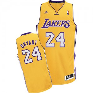 Maillot NBA Swingman Kobe Bryant #24 Los Angeles Lakers Home Or - Enfants