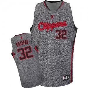 Los Angeles Clippers Blake Griffin #32 Static Fashion Authentic Maillot d'équipe de NBA - Gris pour Homme