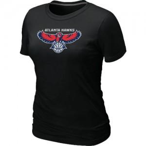 Tee-Shirt NBA Noir Atlanta Hawks Big & Tall Femme