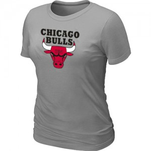 Tee-Shirt NBA Chicago Bulls Gris clair Big & Tall - Femme
