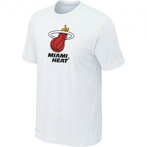 Tee-Shirt NBA Blanc Miami Heat Big & Tall Homme