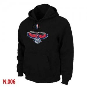 Pullover Sweat à capuche Atlanta Hawks NBA Noir - Homme