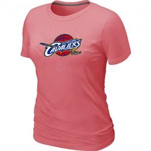 Cleveland Cavaliers Big & Tall Rose Tee-Shirt d'équipe de NBA pas cher - pour Femme