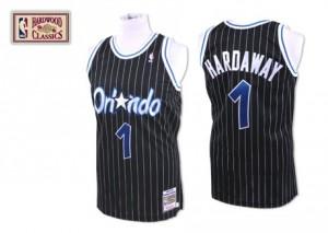 Maillot NBA Orlando Magic #1 Tracy Mcgrady Noir Mitchell and Ness Swingman Throwback - Homme