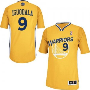 Maillot NBA Authentic Andre Iguodala #9 Golden State Warriors Alternate Or - Homme
