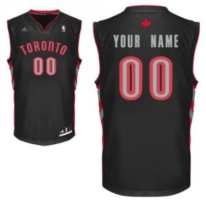 Toronto Raptors Personnalisé Adidas Alternate Noir Maillot d'équipe de NBA pas cher en ligne - Swingman pour Femme