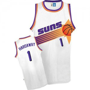 Maillot NBA Authentic Penny Hardaway #1 Phoenix Suns Throwback Blanc - Homme