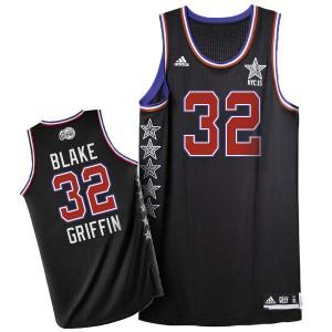Los Angeles Clippers #32 Adidas 2015 All Star Noir Authentic Maillot d'équipe de NBA préférentiel - Blake Griffin pour Homme
