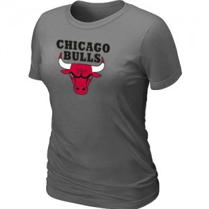 Tee-Shirt NBA Chicago Bulls Gris foncé Big & Tall - Femme