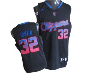 Maillot NBA Authentic Blake Griffin #32 Los Angeles Clippers Vibe Noir - Homme