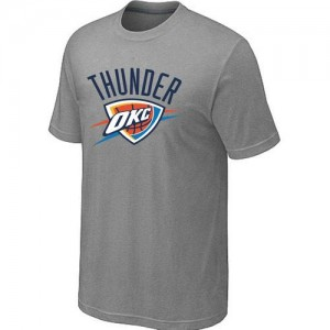 Tee-Shirt Gris Big & Tall Oklahoma City Thunder - Homme