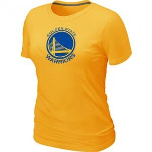 Tee-Shirt NBA Golden State Warriors Big & Tall Jaune - Femme