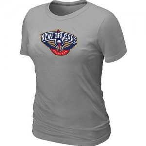 Tee-Shirt NBA Gris New Orleans Pelicans Big & Tall Femme